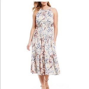 Alex Marie Midi Floral Dress